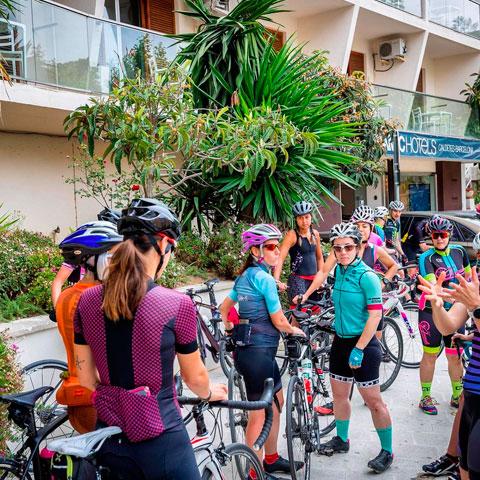 Ciclismo en el Hotel Dynamic