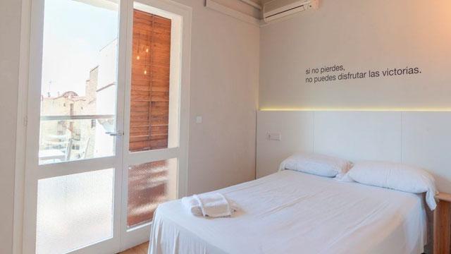 Habitación Single del Hotel Dynamic