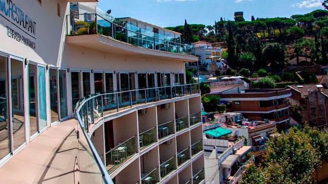 Exterior Hotel Dynamic en Caldes d'Estrac