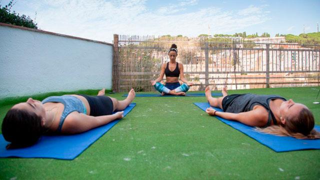 Yoga at Dynamic Hotel